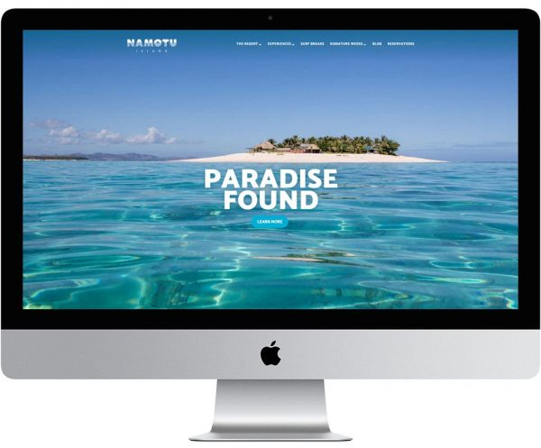 namotu-island-homepage-on-imac